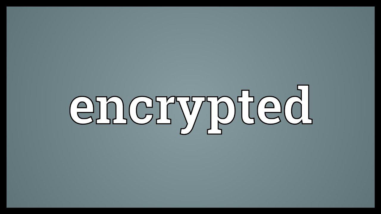 encrypted word translator