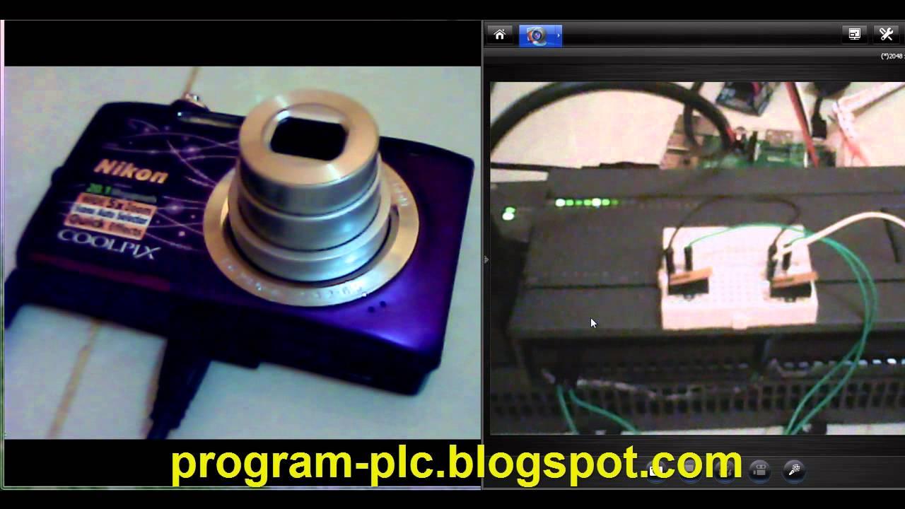 Nikon Digital Camera - PLC - Raspberry Pi 2