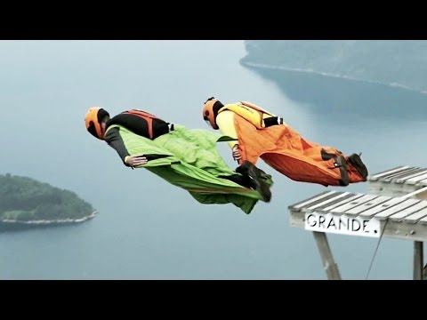 Who is The Fastest Wingsuit Base Jumper? | Countdown To WWL | Ep2