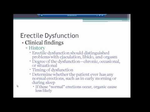 Testicular disorders and ED VIRTUAL LECTURE 2012 - YouTube