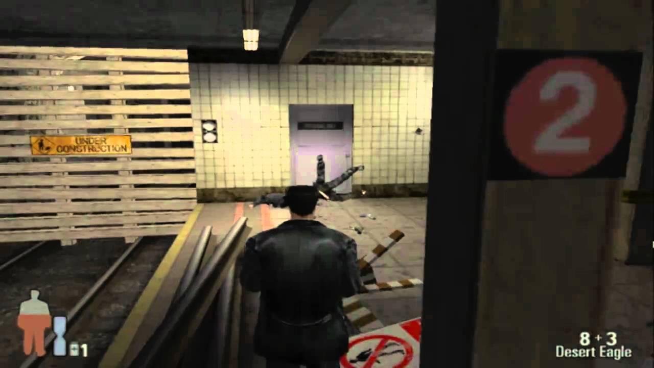 Max Payne Walkthrough Ps2 Roscoe Street Station Level 2 Youtube