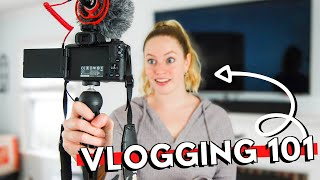 HOW TO VLOG For Beginners // Tips to make better vlogs & become a SUCCESSFUL VLOGGER on YouTube 2020