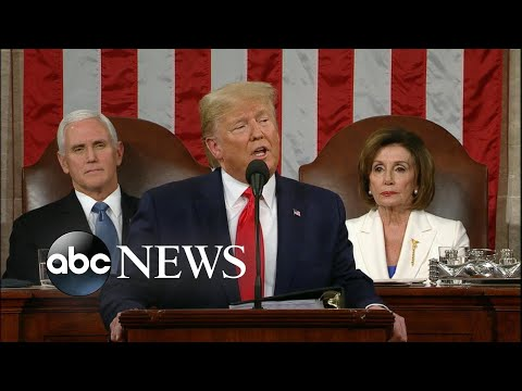 Trump on the US economy l State of the Union 2020 | ABC News