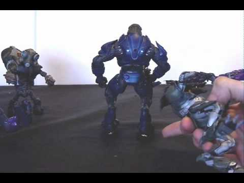 How to Keep your Halo (Reach) Action Figures Balanced, Crisis Resolved?