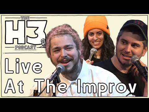 H3 Podcast #56 - Post Malone Live From The Hollywood Improv