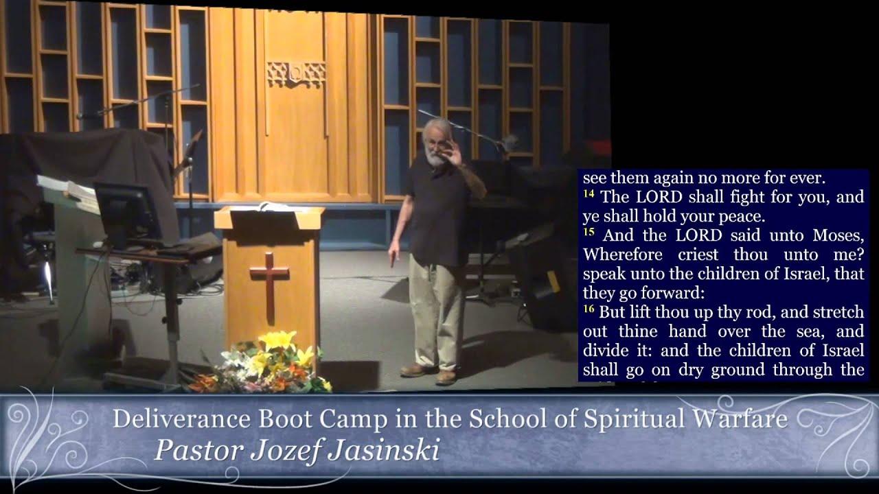 Deliverance Boot Camp in the School of Spiritual Warfare