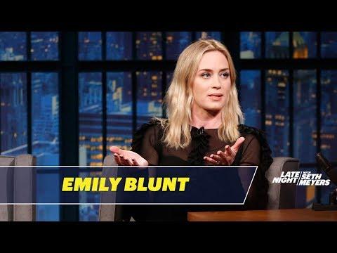 Emily Blunt Tells the Story of How She Met John Krasinski