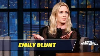 Emily Blunt John Krasinski Cute Moments