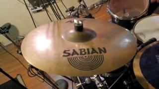 """Sabian 18"""" AAX X-Plosion Crash - Demo"""