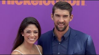 Michael Phelps & Simone Biles at Nickelodeon Kids' Choice Sports Awards 2017