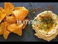 【No music】How to make Hummus/フムスの作り方 (Vegan friendly)