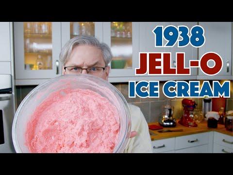 🔵 1938 Depression Era Jell-O Ice Cream Recipe