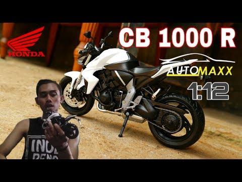🔴HONDA CB-1000 R/Automaxx Diecast/Skala 1:12