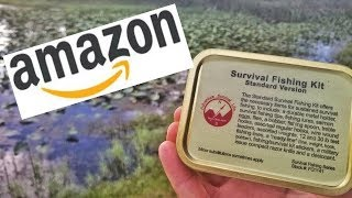 Amazon Fishing Survival Kit Challenge Can This Actually Save Your Life