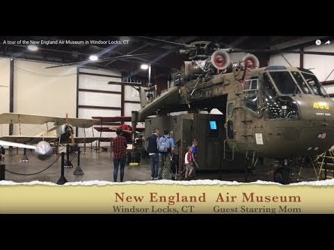 A Tour Of The New England Air Museum In Windsor Locks, CT
