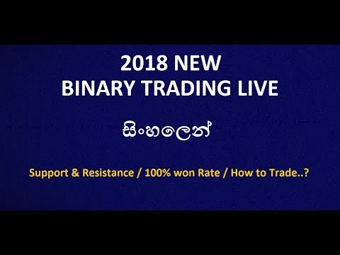 Binary Option Live Trading Lesson 100% WON Rate