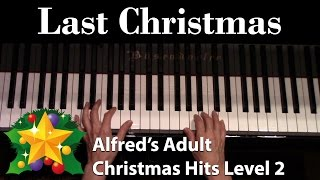 Cover images Last Christmas (Intermediate Piano Solo)