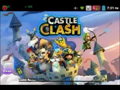 Castle Clash 1.2.39 Hack HBM.avi