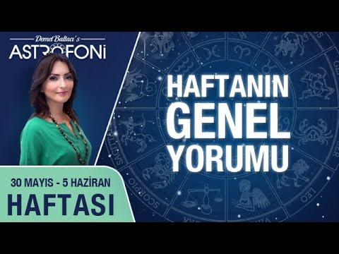 Haftalık Astroloji Ve Burç Yorumu Videosu 30 Mayıs - 05 Haziran 2016