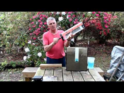 Cromer Constant Head Field Permeameter setup and demonstration