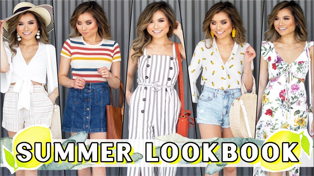 2018 SUMMER Lookbook | Summer Outfit Ideas | Summer Fashion Haul Nordstrom | Miss Louie