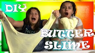DIY BUTTER SLIME | HOW TO MAKE BUTTER SLIME | LIFE WITH BROTHERS