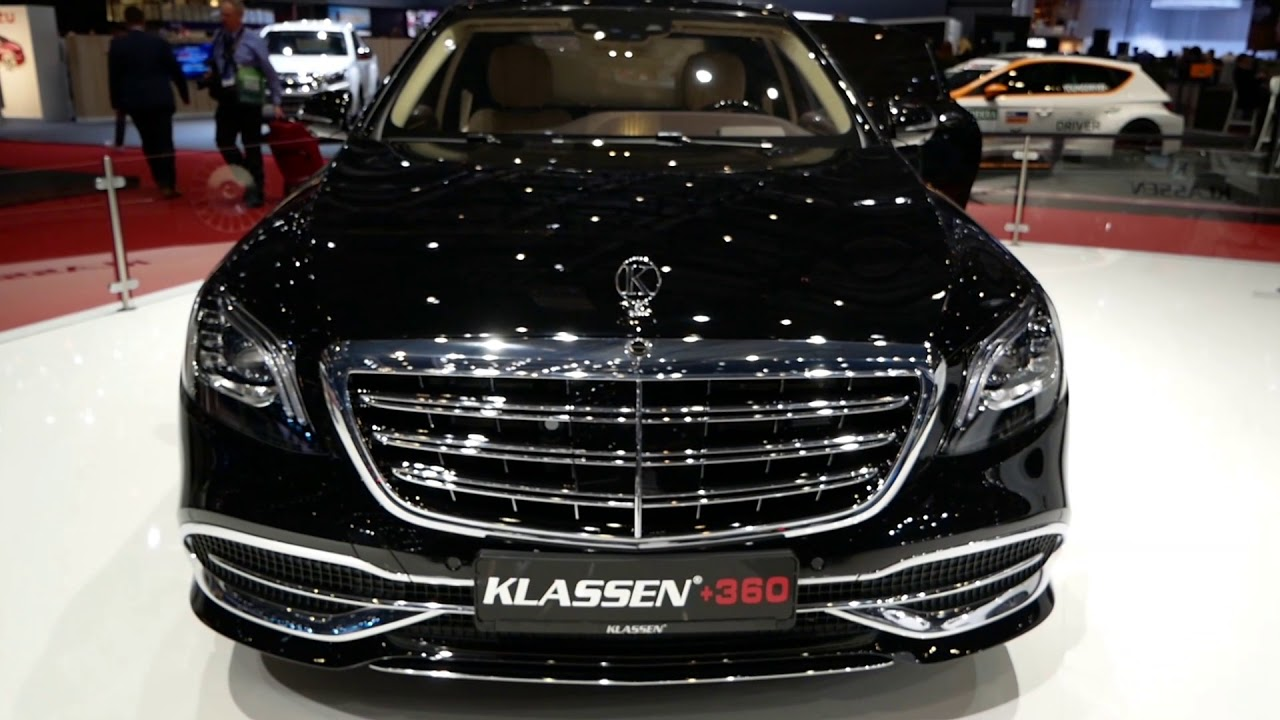 klassen extended mercedes - benz maybach armored guard vr 10 - youtube
