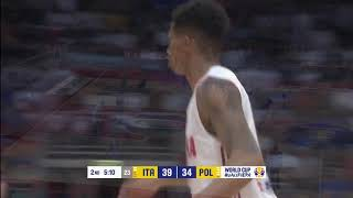 A.J. Slaughter Poland National Team Highlights (28pts vs Italy)