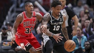 DeMar DeRozan Misses Clutch FT! Bulls Stun Spurs! 2019-20 NBA Season
