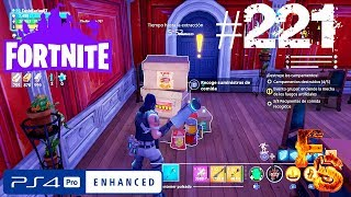 Fortnite, Save the World - Durr Gathers 8 Food Containers - FenixSeries87