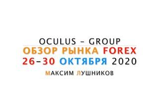 Обзор рынка Форекс на неделю: 26 - 30 Октября 2020 | Максим Лушников