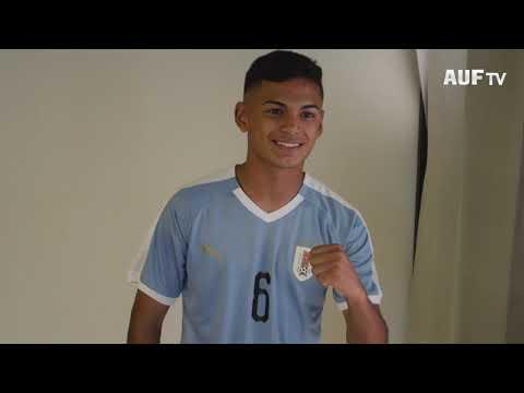 Backstage de las fotos oficiales de la selección uruguaya sub-15