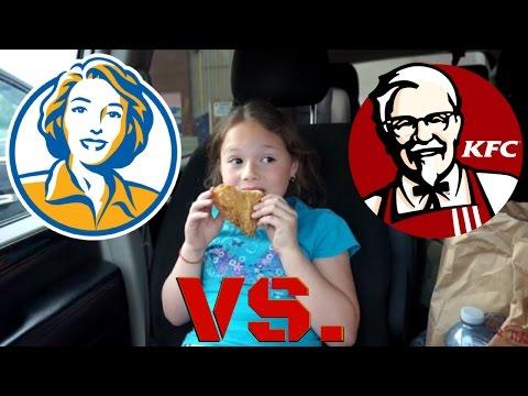 Ravyn's Food !  KFC VS Mary Brown's!
