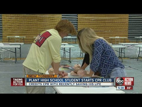 Plant High School student starts CPR Club