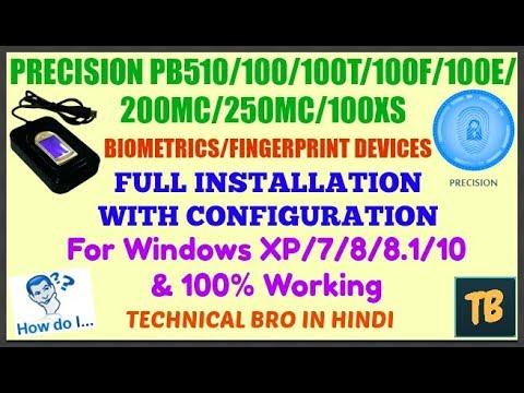 PRECISION PB100-F WINDOWS XP DRIVER