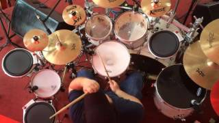 Hillsong Young & Free - Alive Remix (drumcover) BUDRUMS