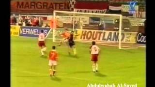 The Netherlands - Luxembourg 4 / 0 (Euro 96 Qualifier: Sep / 7 / 1994)