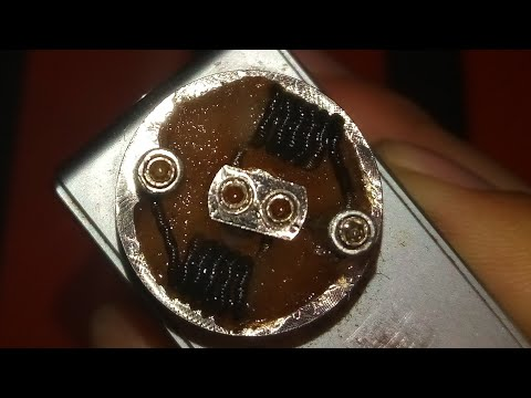 How to : change Rda smoke cloud cotton