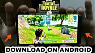 Fortnite For ANDROID|| APK!!