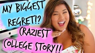 My Biggest Regret, Craziest College Story, & Future Plans | Q&a