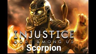 Injustice Gods Among Us - Modo História: Scorpion - Playthrough (Pc Gameplay PT-BR)