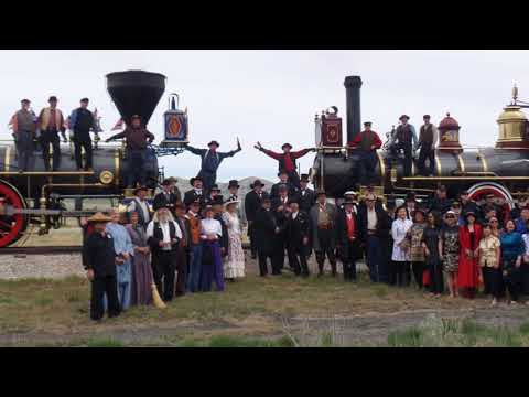 Golden Spike Transcontinental Railroad 149th Anniversary