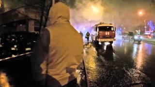 Пожар в ресторане Сюзанна на улице Нагорной, Москва