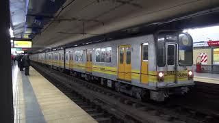 Buenos Aires地下鉄C線 名古屋市交通局5000形5122H(Q編成) Diagonal Norte駅発車