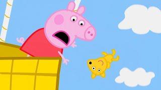 Peppa Pig Français 🧸 Le Voyage En Montgolfière 🧸 Compilation Spéciale | Dessin Animé Pour Bébé