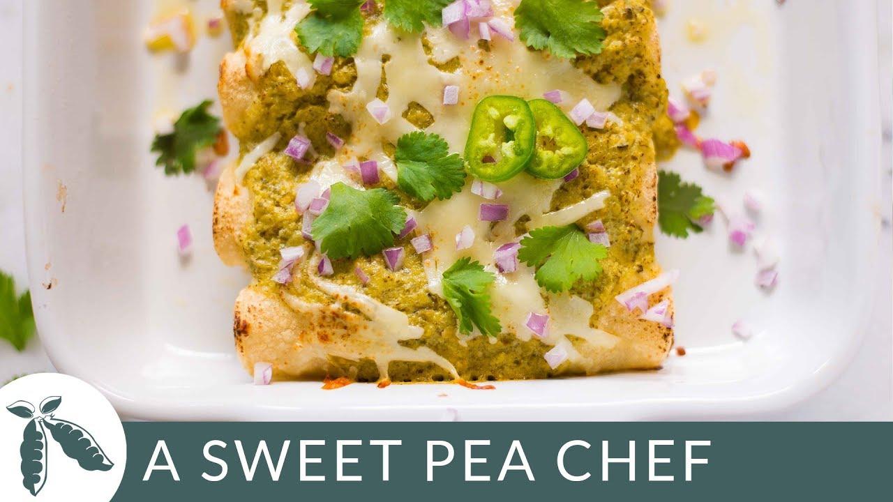Green Chile Chicken Enchiladas Easy Weeknight Dinner Idea Youtube