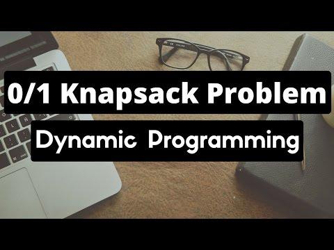 0/1 Knapsack problem (Dynamic Programming)