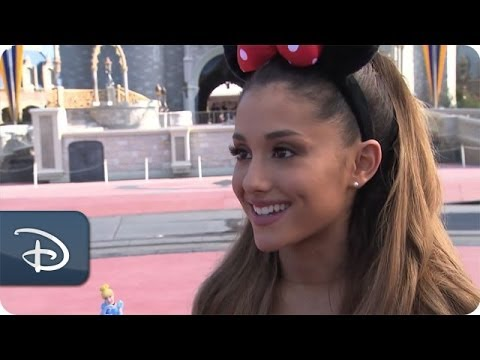 Ariana Grande Celebrates Her 21st Birthday | Walt Disney World