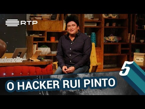 O Hacker Rui Pinto   5 Para A Meia-Noite   RTP