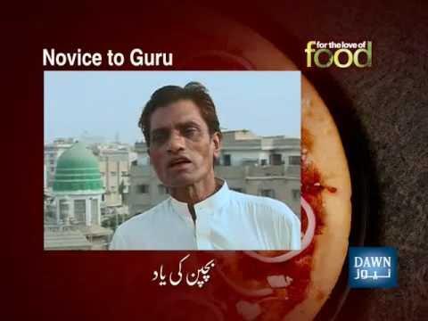 Interview Dawn News ( Ali Mohammad Taji ) & Saqib Ali Taji Qawwal (For The Love of Food)